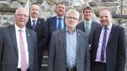Iwan Wüst, Christian Mader, Daniel Frischknecht, Peter Schenk, Hans Trachsel und Lukas Madörin. (Bild: PD)