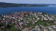Blick auf Steckborn, den Untersee und die Halbinsel Höri (D). (Bild: Olaf Kühne)