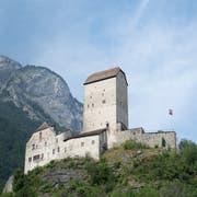 Das Schloss Sargans mit dem imposanten Bergfried ist das Wahrzeichen des gleichnamigen Städtchens. (Bilder: Tim Frei)