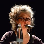Melinda Nadj Abonji in der Theaterwerkstatt Gleis 5. (Bild: Mathias Frei)