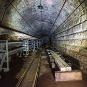 Unter der Stadt St.Gallen verbirgt sich ein rund 140 Meter langer Eisenbahntunnel.