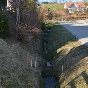 Beim Taabach in Gähwil übernimmt die politische Gemeinde nach Abzug der Bundes- und Kantonsbeiträge 60 Prozent der Kosten. Für die übrigen Kosten müssen die Anstösser aufkommen. (Bild: Beat Lanzendorfer)