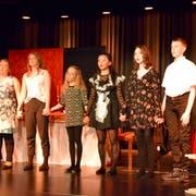 Claudia Vetsch, Ameli Wahl, Anna Marschall, To Lan Muller, Mina Kuntz und Adrian Basinski (von links). (Bild: Christian Imhof)