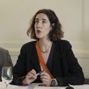 Lili Hinstin: Die neue künstlerische Leiterin des Locarno Film Festivals stellt das Programm der 72. Ausgabe vor. (Bild: Keystone)