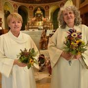 Anne Zorell Gross tritt die Nachfolge von Gaby Zimmermann als Leiterin der Katholischen Kirchgemeinde an.(Bild: Markus Schoch)