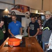 Die Aussteller erfahren ein erfreuliches Interesse der Besucher an ihren Produkten und Dienstleistungen. (Bilder: Thomas Schwizer)