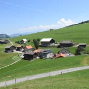 Der Weiler Schwanden gehört zur Gemeinde Oberhelfenschwil und liegt zwischen dem Thur- und dem Neckertal auf 894 Meter über Meer. (Bild: Urs M. Hemm)
