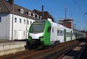 Visualisierung eines Stadler-Flirt für die S-Bahn Rhein-Ruhr. (Bild: PD)