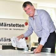 Gemeindepräsident Jürg Schumacher räumt seinen Platz. (Bild: Mario Testa)