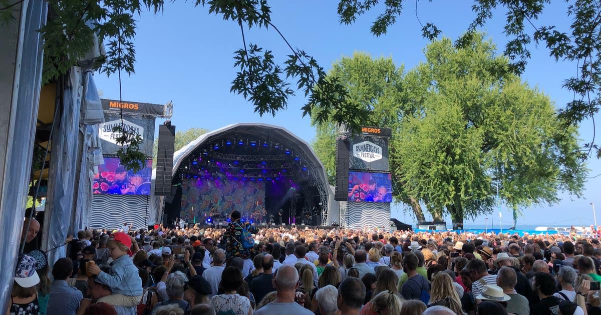 Live am zweiten Tag des Summerdays-Festivals: Kaufmann macht den Auftakt +++ ideales Wetter +++ Marc Sway lockt die Besucher in Scharen vor die Bühne   St.Galler Tagblatt