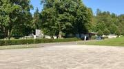 Der Parkplatz an der Degersheimerstrasse soll hingegen ausgebaut werden. (Bild: Andrea Häusler)