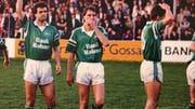 Von 1986 bis 1989 absolvierte Erminio Piserchia (links) fast 100 Spiele für den FC St.Gallen und schoss 22 Tore. (Bild: Sammlung Erminio Piserchia)