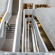 Blick ins Unigebäude in der Stadt Luzern. (Bild: Roger Grütter)