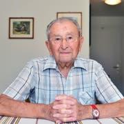 Edgar Strub rückte 1942 in die RS ein – und wurde die Erinnerung an den Krieg ein Leben lang nicht mehr los. (Bild: Samuel Schumacher, 28. August 2019)