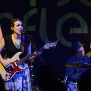 Amerikanische Musikerinnen und Musiker, wie hier die Sängerin und Gitarristin Becca Stevens, werden in Muri bevorzugt.