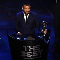 Lionel Messi zum sechsten Mal Weltfussballer