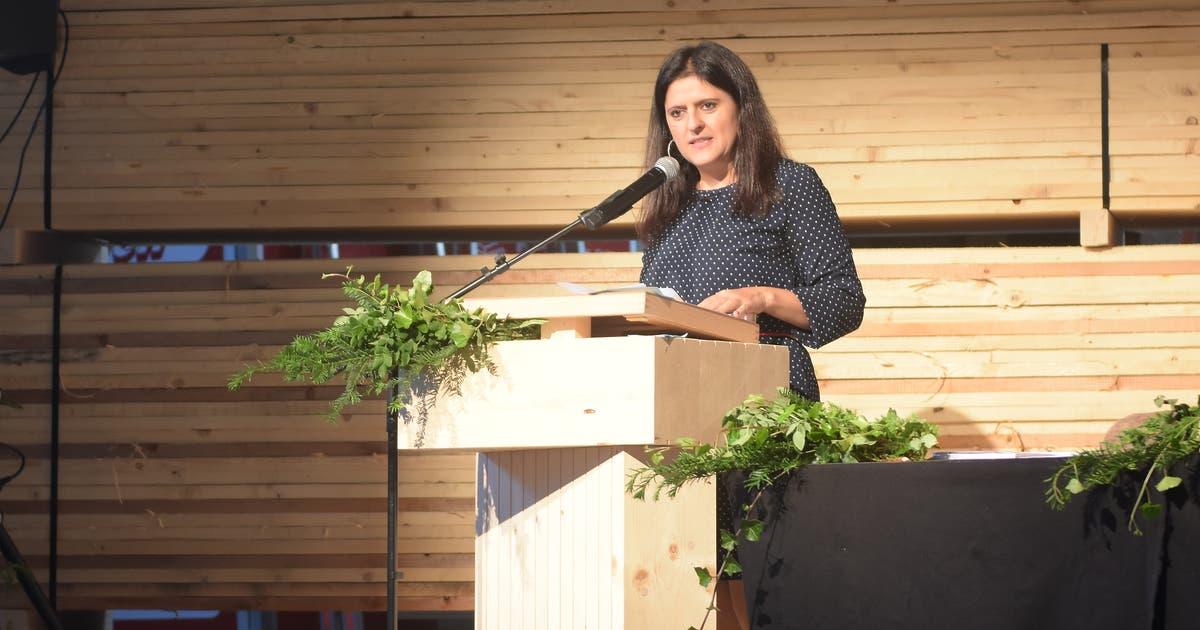 Die Ausserrhoder FDP-Nationalratskandidatin Jennifer Abderhalden sagt «Zubi» den Kampf an | St.Galler Tagblatt