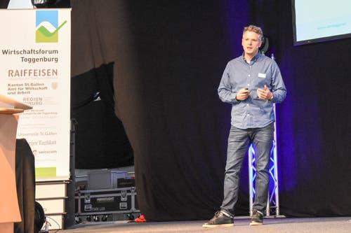 Stefan Merz, VR-Präsident Merz+Egger sowie Geschäftsleiter Solarmotion: (Bild: Urs M. Hemm