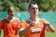 Silvan Bechtiger hat sich nach seinem Wechsel zu Linth 04 auf Anhieb zurechtgefunden bei den Glarnern zurechtgefunden. (Bild: Beat Lanzendorfer)
