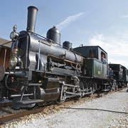 Die Trienger Dampflokomotive «Tigerli». (Bild: Philipp Schmidli)