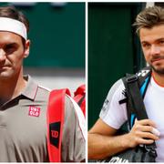 Roger Federer und Stan Wawrinka treffen sich an den French Open 2019 im Viertelfinal. (Bilder: Claude Diderich/freshfocus)