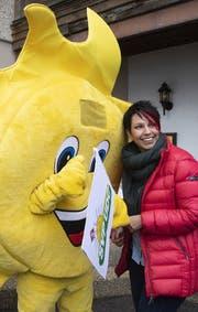 SVP-Nationalrätin Sandra Sollberger, Betreuerin der Wahlbotschafter. (Bild: Keystone)