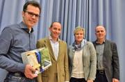 Auf Dominik Diezi soll im November Friedrich Sakkal ins Präsidium folgen. Vorübergehend teilen sich Myrta Lehmann und Andreas Raschle das Amt interimistisch. (Bild: Max Eichenberger)