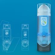 Airopack hat einen neuartigen Pumpmechanismus für Spraydosen ohne Treibgas entwickelt. (Bild: Screenshot Airopack)
