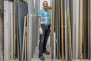 Über monatliche Atelierbesuche hat sich der Basler Heinz Stahlhut schnell in der Luzerner Kunstszene eingelebt. (Archivbild: Pius Amrein, Luzern, 19. Juli 2016).
