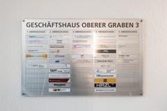 Der Blick auf die Info-Tafel im Eingang verrät es bereits: Das Haus Union lebt! (Bild: Urs Bucher - 21. August 2019)