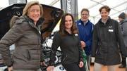 Beatrice Bickel (Bickel Auto AG), Kantonsrätin Kristiane Vietze, Rennfahrerin Barbara Gyger-Bühler und Stapi-Gattin Vera Stokholm. (Bild: Margrith Pfister-Kübler)