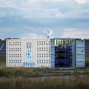 In solchen Containern führte Envion die energieintensive Schürfung von Kryptowährungen durch. (PD)