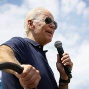 Joe Biden, 76, will Präsident werden. (Bild: Keystone)