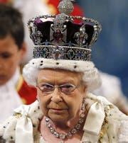 Queen Elizabeth II. Das Bild vergrössert sich durch Anklicken. (Bild: Keystone)