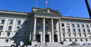 Das Bundesgericht in Lausanne. (Bild: Keystone, Laurent Gillieron/13. April 2017)