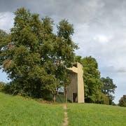 So soll die geplante Aussichtsplattform im Gebiet von Ottenhusen dereinst aussehen. (Bild: PD)