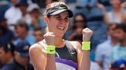 Belinda Bencic steht in den Halbfinals der US Open. (Bild: Keystone)