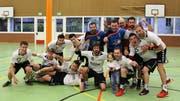 Grösster Erfolg der Vereinsgeschichte: 1.-Liga-Aufstieg der Männer im Jahr 2016. (Bild: PD)
