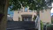 Das Gemeindehaus von Alpnach. (Bild Markus von Rotz, 16. Mai 2018)