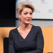 Karin Keller-Sutter will Bundesrätin werden. (Bild: Thomas Hary)