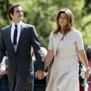 Es könnte sein, dass Roger und Mirka Federer bald dem Zürichsee entlang flanieren. (Bild: Getty)