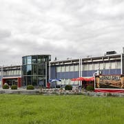 Das ist der Standort des neu geplanten Casinos in Triesen. (Bild: Tatjana Schnalzger)