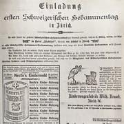 Gründungsmitglieder des Schweizerischen Hebammenverbands. (Bild: Archiv SHV)