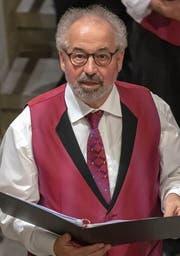Roby Arnold, Präsident des Männerchors Harmonie. (Bild: PD)