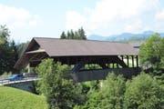 Ab August wird diese Brücke zwischen Bütschwil und Ganterschwil saniert. (Bild: Beat Lanzendorfer)