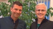 Felix Koch (Geschäftsführer, links) und Hansruedi Koch wurden neu in den Kirchgemeinderat gewählt. (Bild PD)