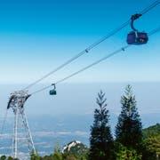 Doppelmayr/Garaventa baute die erste Dreiseilbahn Chinas von Jiujiang auf den Berg Lushan. Kapazität: 3000 Personen pro Stunde. (Bild: PD)