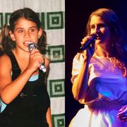 Eliane Müller links bei einem Auftritt bei einer Mini Playback Show, rechts bei einem «echten» Auftritt. (Bilder: PD/Patrick Hoerdt)