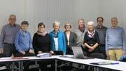 Initiant Hansjörg Rietmann (1.v.l.) mit der Arbeitsgruppe, die beim Aufbau der Nachbarschaftshilfe und Talentbörse Ergaten-Talbach mitgeholfen hat. Daraus entstand die Betriebsgruppe und die Vermittlungsstelle.
