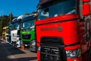 An der diesjährigen «Trucker Chilbi» werden wieder verschiedene Lastwagen-Modelle zu sehen sein. (Bild: PD)